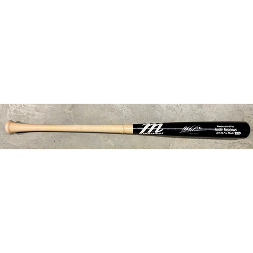 Photo of Rays Baseball Foundation: Game Used Autographed Broken Bat - Austin Meadows - July 23, 2019 v BOS
