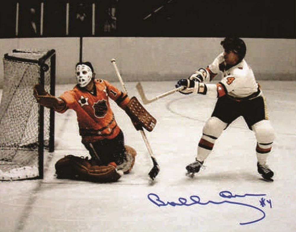 Bobby Orr - Signed 8x10 All-star in color w Tony Esposito