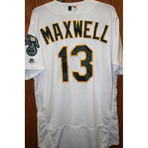 Bruce Maxwell Game-Used