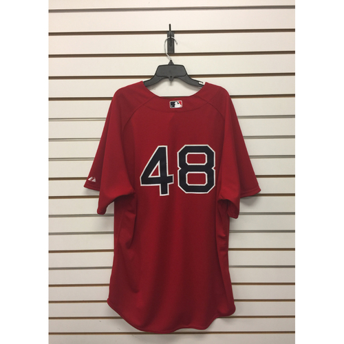 Pablo Sandoval Team-Issued 2015 Home Alternate Jersey