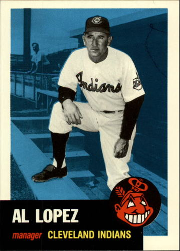 Photo of 1991 Topps Archives 1953 #329 Al Lopez MG
