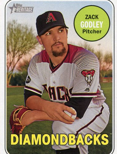 Photo of 2018 Topps Heritage #334 Zack Godley