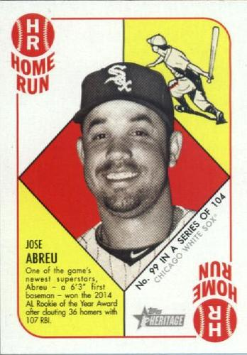 Photo of 2015 Topps Heritage '51 Collection #99 Jose Abreu