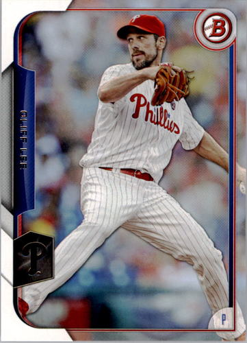 Photo of 2015 Bowman #86 Cliff Lee