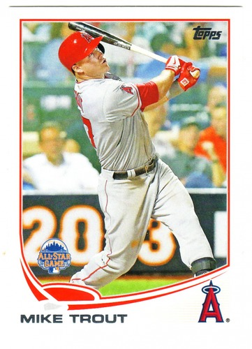 Photo of 2013 Topps Update #US300A Mike Trout