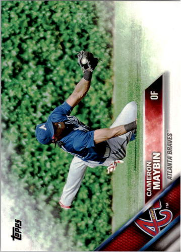 Photo of 2016 Topps #156 Cameron Maybin