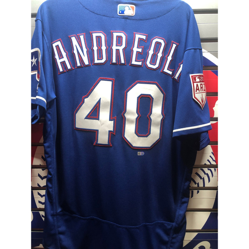 Photo of John Andreoli Team-Issued Spring Training Jersey