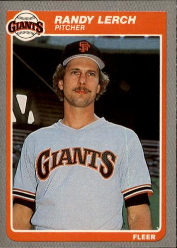 Photo of 1985 Fleer #616 Randy Lerch