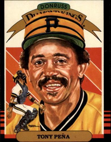 Photo of 1985 Donruss #24 Tony Pena DK
