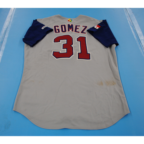 Photo of 2006 Inaugural World Baseball Classic: Miguel Gomez Game-worn Team Panama Road Jersey