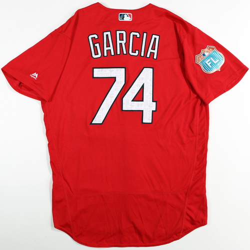 Photo of 2016 Spring Training - Spring Training Game Used Jersey - Silfredo Garcia (Cardinals)- Size- 48