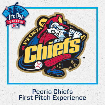 Peoria Chiefs First Pitch Experience