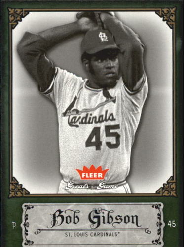 Photo of 2006 Greats of the Game #12 Bob Gibson