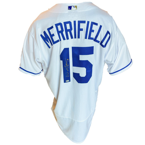 Photo of Autographed Nike Jersey: Whit Merrifield