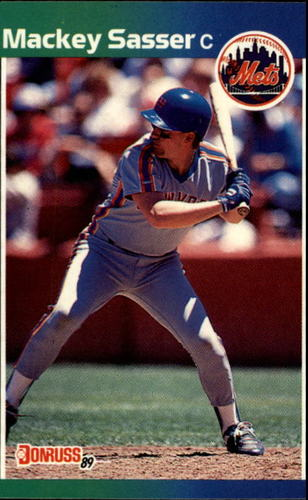 Photo of 1989 Donruss #454 Mackey Sasser