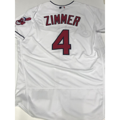 Photo of Bradley Zimmer Team Issued 2018 Home Jersey