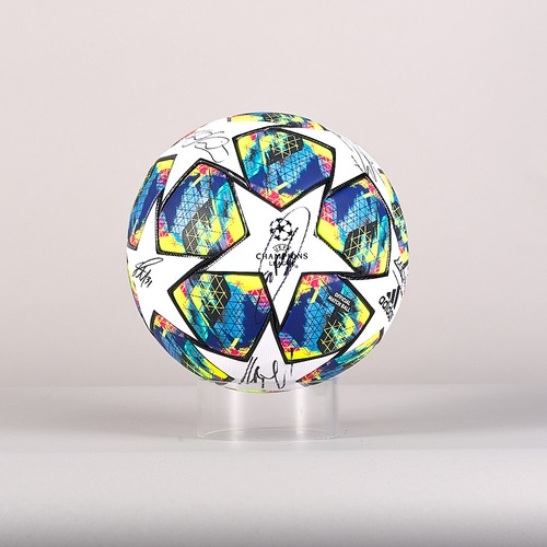Photo of A signed  Manchester City FC team's ball