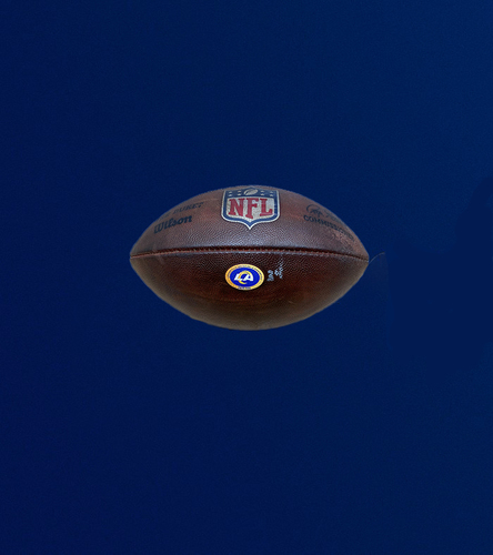 Photo of Rams Game Used Football - (11/15/2020 VS. Seattle Seahawks)