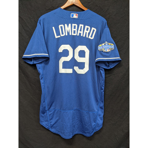 Photo of George Lombard Team-Issued 2020 Spring Training Jersey with 2020 All Star Patch