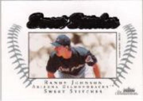 Photo of 2003 Fleer Showcase Sweet Stitches Game Jersey #RJ Randy Johnson/899