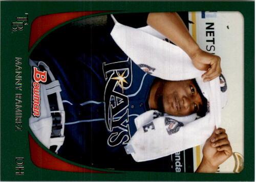Photo of 2011 Bowman Green #90 Manny Ramirez