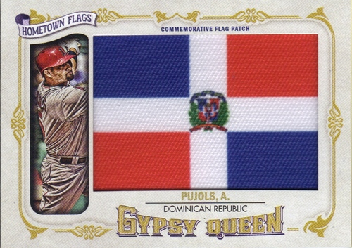 Photo of 2014 Topps Gypsy Queen Hometown Flags #GQHFAP Albert Pujols
