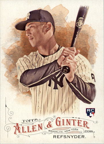 Photo of 2016 Topps Allen and Ginter #324 Rob Refsnyder RC