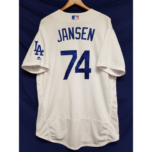 newest 40802 5f93a MLB Auctions | Kenley Jansen Game-Used Jersey - 26th Save of ...