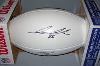 49ERS - IAN WILLIAMS SIGNED PANEL BALL W/ 49ERS TEAM LOGO