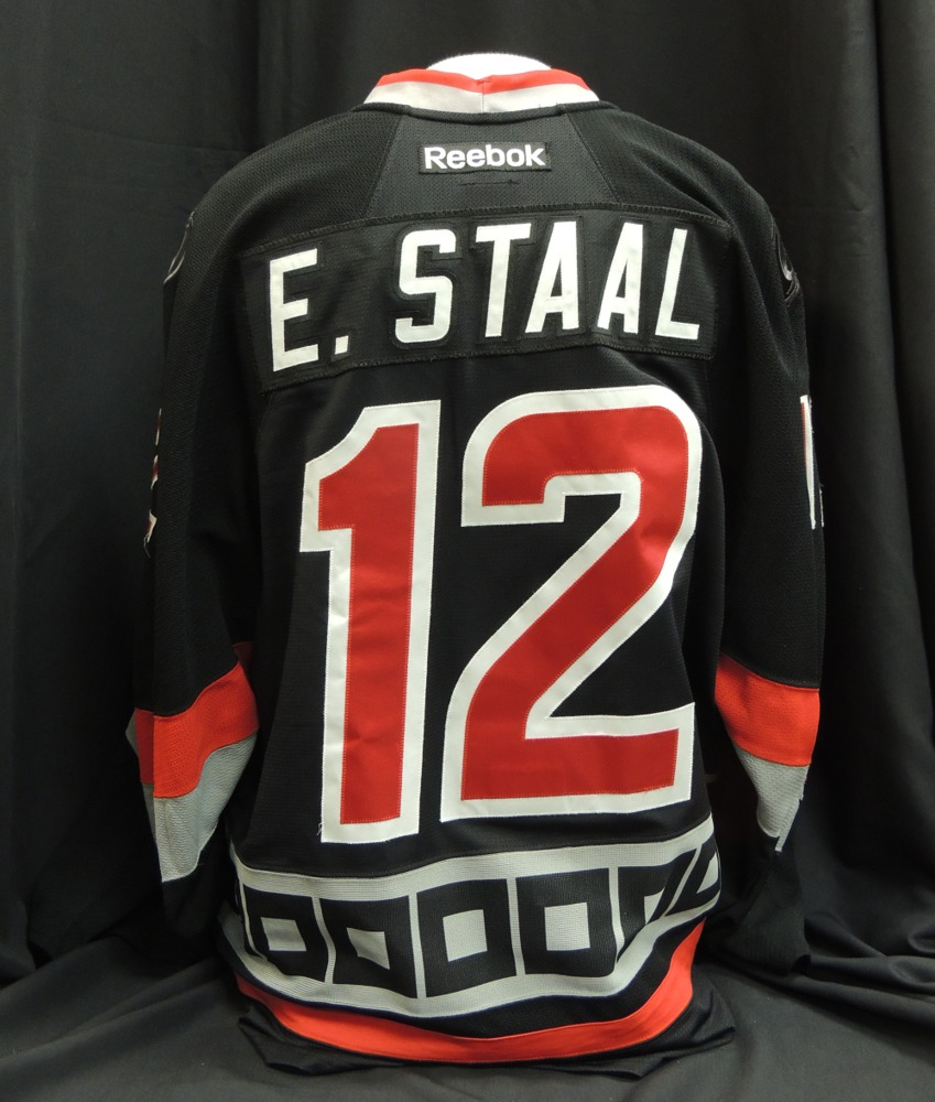 349d4de9b Eric Staal  12 Game Worn Jersey - NHL Auctions