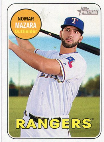 Photo of 2018 Topps Heritage #335 Nomar Mazara