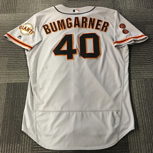 Madison Bumgarner 4x ALL-STAR - Game-Used Jersey - Size 50