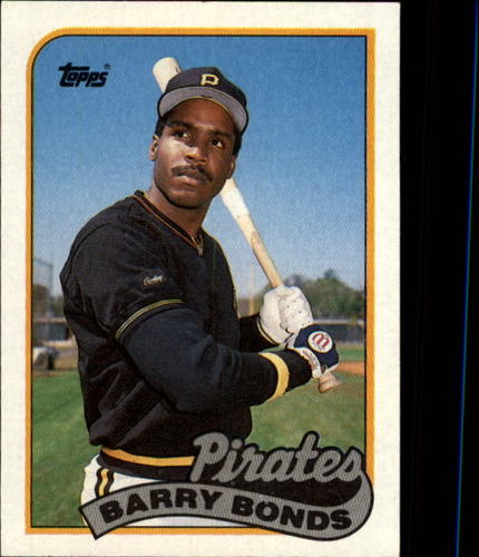 Photo of 1989 Topps #620 Barry Bonds