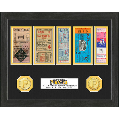 Photo of Pittsburgh Pirates World Series Ticket Collection