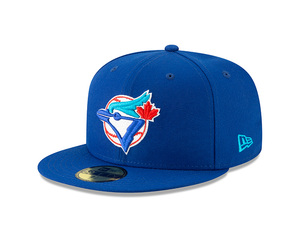ae67f0ac099 Toronto Blue Jays Cooperstown Tag Turn Fitted Cap by New Era