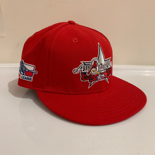Photo of 2016 Texas League All Star Game -  Game Used Cap  - Daniel Poncedeleon (St. Louis Cardinals) Size - 7 -1/4