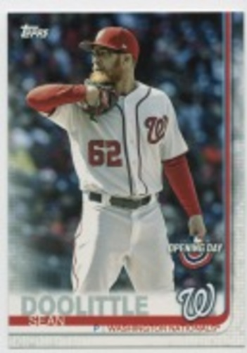 Photo of 2019 Topps Opening Day #154 Sean Doolittle