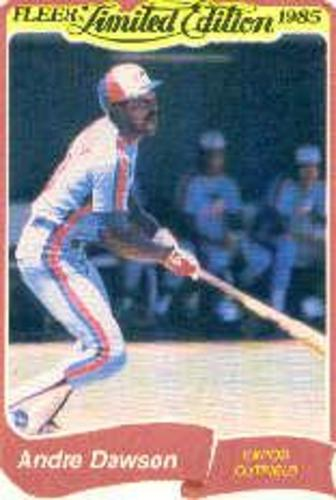 Photo of 1985 Fleer Limited Edition #8 Andre Dawson