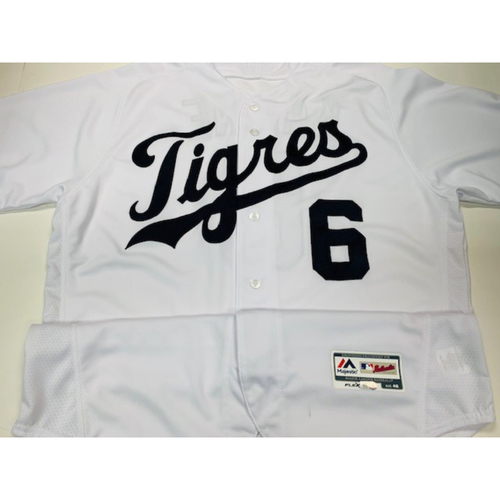 Photo of Team-Issued Fiesta Tigres Jersey: Al Kaline