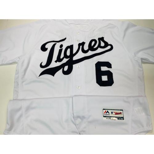 Photo of Team-Issued Fiesta Tigres Jersey: Al Kaline