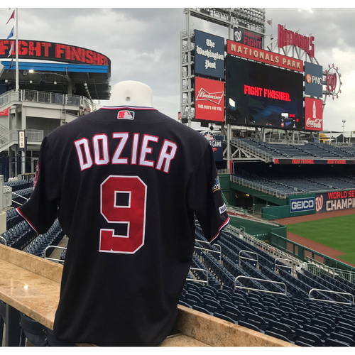 Photo of 2019 NLDS/NLCS Game-Used Jersey: Brian Dozier