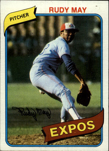 Photo of 1980 Topps #539 Rudy May