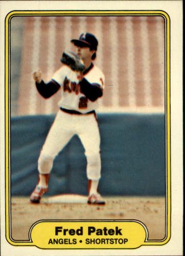 Photo of 1982 Fleer #471 Fred Patek
