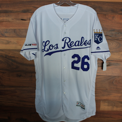 Photo of Game-Used Jersey: Brad Boxberger (Size 46 - KC vs MIN 6/21/19)
