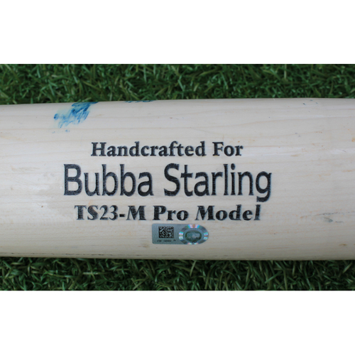 Photo of Team-Issued Bat: Bubba Starling