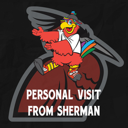 Photo of Visit from Sherman at Your Home or Business