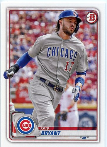 Photo of 2020 Bowman #22 Kris Bryant