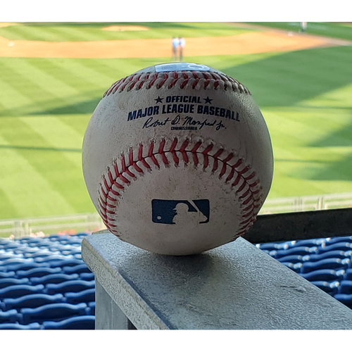 Photo of 2020 Phillies Game-Used Baseball - Brett Gardner 2-run Home Run