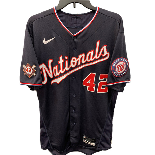 Photo of Trea Turner - Jackie Robinson Day Game Used Jersey