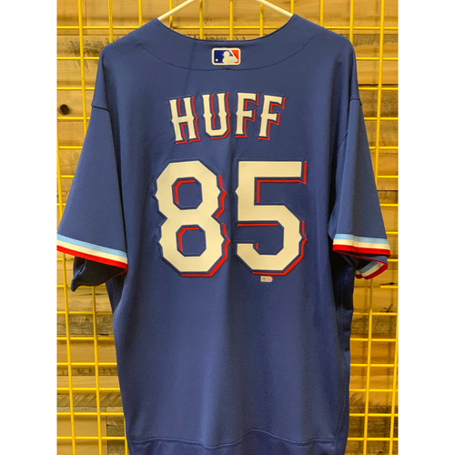 Photo of Sam Huff Team-Issued Spring Training Jersey